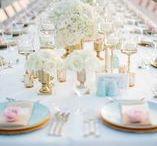 Romantic Wedding / Wedding decoration
