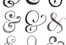 Swirls / calligraphy, borders, dividers, glyphs