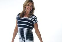 COASTAL STYLE / Nautical style is simple chic at its best! We love the whites and navys in stripes and anchors. It is the epitome of classic style and loved by all. You can rock it whether you are by the coast or inland!