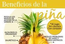 Alimentos y bebidas saludables / Propiedades y beneficios.