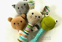 Šití hračky - Sewing toys