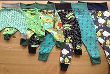 Šití oblečení pro děti unisex - Sewing dresses for babies unisex