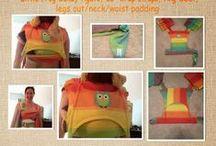 Šití pro nošení dětí - Sewing wearing