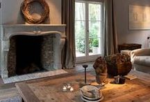 French & Stylish / With fabulous fireplaces, windows and floors, what's not to like about French interiors. I love them.