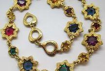 Vintage Yves Saint Laurent Jewellery / Beautiful and rare Yves Saint Laurent vintage jewellery from Modern Vintage Style