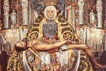 El altar de la Virgen