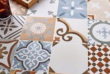 Stylish Tiles / Tiles can turn your interior schemes into something special. Get creative!