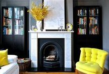 Style with Colour / Colourful schemes that bring a room to life.