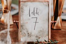 Metallic Wedding / Copper wedding, design wedding, copper wedding cake, copper invitations