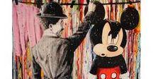 Julien DURIX / Né en 1991 à Vichy, Julien Durix se consacre à la peinture depuis 2012. Il peint comme il respire, et dans ses œuvres pleines de force et de dynamisme les super-héros prennent le pouvoir et nous transportent dans leur monde imaginaire. Ils nous invitent à les rejoindre dans leur univers léger et coloré.