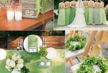 Greenery Wedding / Wedding trend 2017, greenery, garden wedding