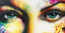 ONEMIZER / Onemizer est né en 1987 dans le Sud de la France. Il puise son inspiration dans les classiques du pop art tels que Basquiat, Warhol… ainsi que tout simplement dans sa vie quotidienne.  Il utilise un large éventail de techniques différentes : bombes de peinture, pochoirs, dessins, posca, pinceaux, encre... C'est l'impact visuel et le choc des couleurs qui rendent chacune de ses toiles plus originales les unes que les autres.