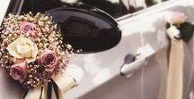 Autodekoration für die Hochzeit / Lasst die Welt wissen, dass heute euer großer Tag ist! Sucht euch die schönste Autodekoration für eure Hochzeit bei uns raus.