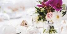 Tischdeko für die Hochzeit / Schmückt eure Hochzeitstische mit unserer ganz besonderen Deko-Auswahl!