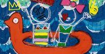 FERREIRA David / David Ferreira est un artiste autodidacte né à Pau en 1982. Ses œuvres sont composées de formes géométriques, de diagonales et d'équations, ses œuvres colorées révèlent un travail sur la matière et les volumes, rajoutant ainsi profondeur et perspective.