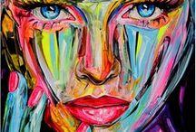 LAVENTURE Raphaël / Raphaël LAVENTURE est un artiste français installé aujourd'hui sur l'île d'Ibiza. Les principaux points de départ de l'artiste sont l'humain et son visage, en particulier le bonheur et l'exaltation. Soucieuse et amère, la population du 21ème siècle se retrouve dans ses tableaux joyeuse et éclatante. L'artiste porte une vision positive et sereine de la vie.