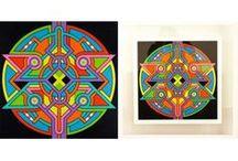 SEIZE HAPPYWALLMAKER / Artiste peintre autodidacte originaire de Paris, SEIZE HAPPYWALLMAKER évolue dans un univers géométrique et coloré.  Son expérience et son inspiration viennent de l'art urbain où il fait ses débuts , il développe un code graphique très personnel et utilise l'énergie positive des couleurs comme une thérapie. Il travaille depuis de nombreuses années autour d'une réflexion basée sur les réseaux et les connexions.