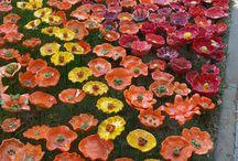 Puutarha keramiikka,garden ceramics