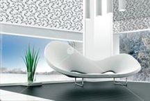"""Roletai / Roletai yra universalus langų dekoravimo būdas siekiantiems patogumo ir fukcionalumo. Jie naudojami kaip atskiras elementas arba derinami prie tradicinių užuolaidų. """"Domus Lumina"""" siūlo roletus plastikiniams langams, tradicinius, nuo saulės ir karščio, dvigubus, skirtus stogo langams, bei fotoroletus.  Sužinokite daugiau: http://goo.gl/N4pMRX."""