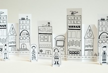 Houses-town-village