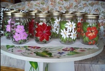 Decorate masonjars