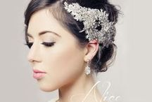 Chrysalini Bridal Headpieces / The Chrysalini bridal headpiece collection consists of head turning crystallized feather hair accessories and bejeweled headbands. On this board we share with you ideas on how to accessorize with headpieces that will complete your bridal look.