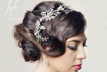 Bridal Hair / This board is inspiration for those looking for the right hairstyle on their special day.