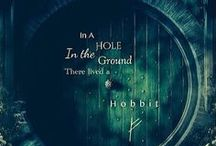 "Adventure of hobbits (The Hobbit, LOTR) / ""I´m looking for someone to share in an adventure."" The Hobbit, The Lord of the Ring, J. R. R. Tolkien"