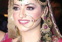 Indian Celebrity in Wedding Dresses / Indian Celebrity
