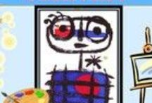 Art - Miro / Διάφορες δραστηριότητες  για τον καλλιτέχνη Miro