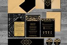 Wedding and Party Invitations / Wedding and Party Invitation Suites By Dfinitive Desgin