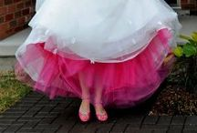 Pretty in Pink / Because we want to adorn and emulate that beautiful bride blush.