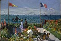 Art | Paintings / John William Waterhouse - John Singer Sargent - Edward Hopper - Paul Gauguin - Édouard Manet - Pete Mondriaan - Georges Seurat - Paul Signac - Joaquín Sorolla - Gustave Caillebotte