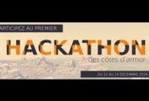 hackathon22 / Kreizenn dafar, créateur de la:matrice organise le premier hackathon des Côtes d'Armor, avec la thématique : Permis de déconstruire ton territoire.  Retrouves ici les infos #hackathon22  http://hackathon.la-matrice.org