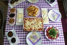 KAHVALTI MASALARI / Kahvaltı masaları ve mönüleri