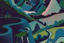 Landscape / Grant Wood - Simon Palmer - Hiroyuki Izutsu – Sam Chivers