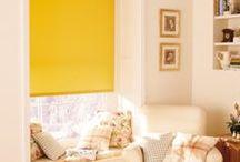 Geltona spalva namų interjere / Optimizmą spinduliuojanti, šviežiomis citrinomis ir skaisčiais narcizais kvepianti geltona spalva – tikra pavasariško namų interjero puošmena. Apsižvalgykite Domus Lumina idėjų lentoje ir raskite savo mėgiamiausią derinį!