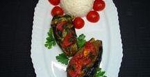 PATLICANLI TARİFLER / Patlıcan (eggplant) ile hazırlanmış çorba, salata, börek, yemek tarifleri...