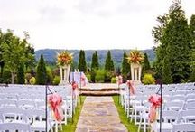 Wedding Ceremony Decor / Browse different ideas for wedding ceremony set-ups and decor.