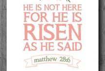 Easter / Easter Ideas!  Bunny, cross, egg, hunt, crucifixion, resurrection, chick, rabbit, salvation, forgiven, passion, Christ, God, Jesus.