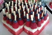 Patriotic / Patriotic Ideas!  Fourth of July, 4th, Independence, USA, America, freedom, fireworks, red, white & blue.