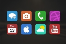 iOS 7 Concepts / New, flat design by Ive