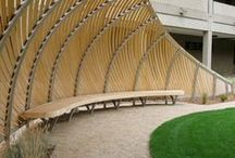 Extraordinary use of wood / Illustrating the wow factor wood gives you and it's endless design flexibility