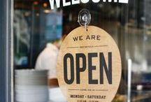 Restaurant life / Photos of restaurants and thingy-majigs