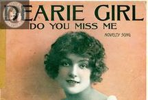 Vintage Sheet Music / Vintage Sheet Music Covers / by So Divine Yesterday