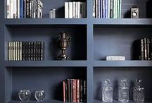 Valley House: Library / by Curating Lovely