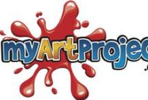 Great art ideas - for an easy fundraiser for your School / Fundraising ideas for schools and nurseries. Create personalised greeting cards & gifts with the kids to raise funds for your school, nursery or youth group. Visit us at www.myartproject.co.uk