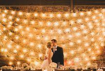 WEDDINGS | Lighting Ideas / Lighting ideas for weddings and events. #wedding #love #events #celebrate #wdm #ames #iowa #centraliowa #lighting #christmaslights #twinklelights  Telephone:  515.268.9333  Website: www.celebrationsames.com