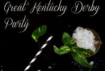 PARTY | Kentucky Derby / Ideas for planning a Kentucky Derby party or event. #we #events #celebrate #wdm #ames #iowa #centraliowa #kentuckyderby #churchhilldowns #horseraces #mintjulep #runfortheroses #roses #bighat #derbyhat #pony #horseshoe #lucky #kentucky #bet  Telephone:  515.268.9333  Website: www.celebrationsames.com