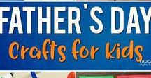 Fathers Day ideas / Fun and easy crafts and ideas for making Fathers Day gifts with your kids